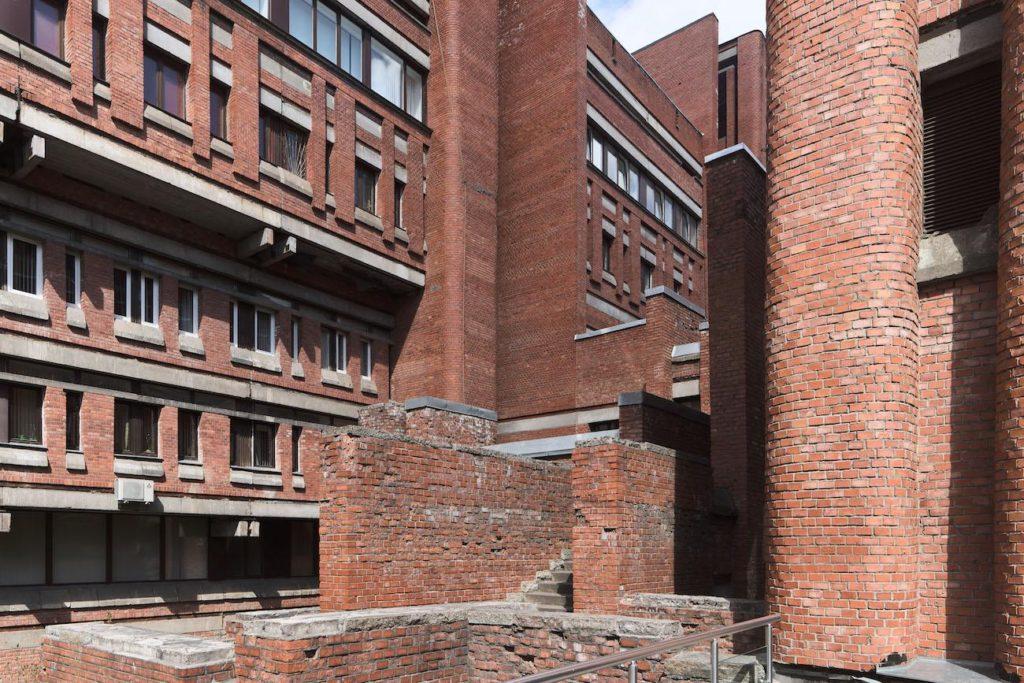 brutalisme Leningrad Electrotechnical Institute