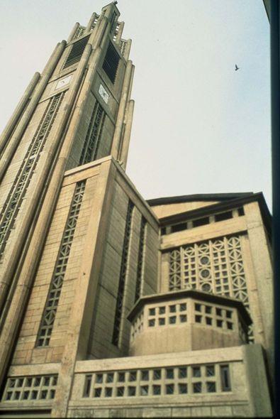 brutalisme Eglise Notre-Dame du Raincy auguste Perret