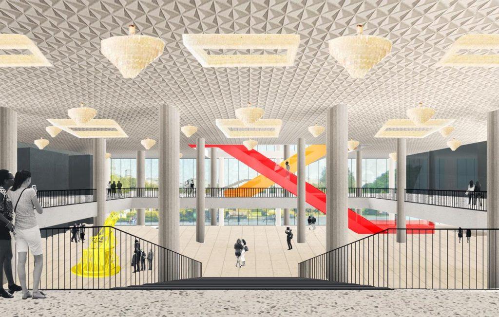 OMA/ Rem Koolhaas : Tretyakov Moscou