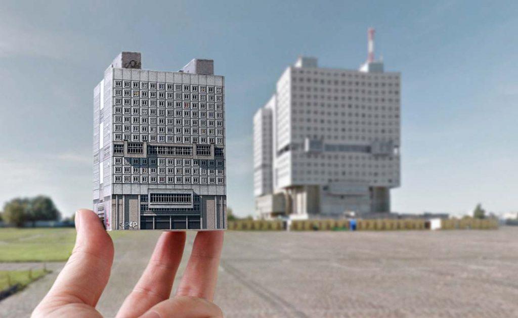 brutalisme Brutal East studio Zupagrafika maquettes