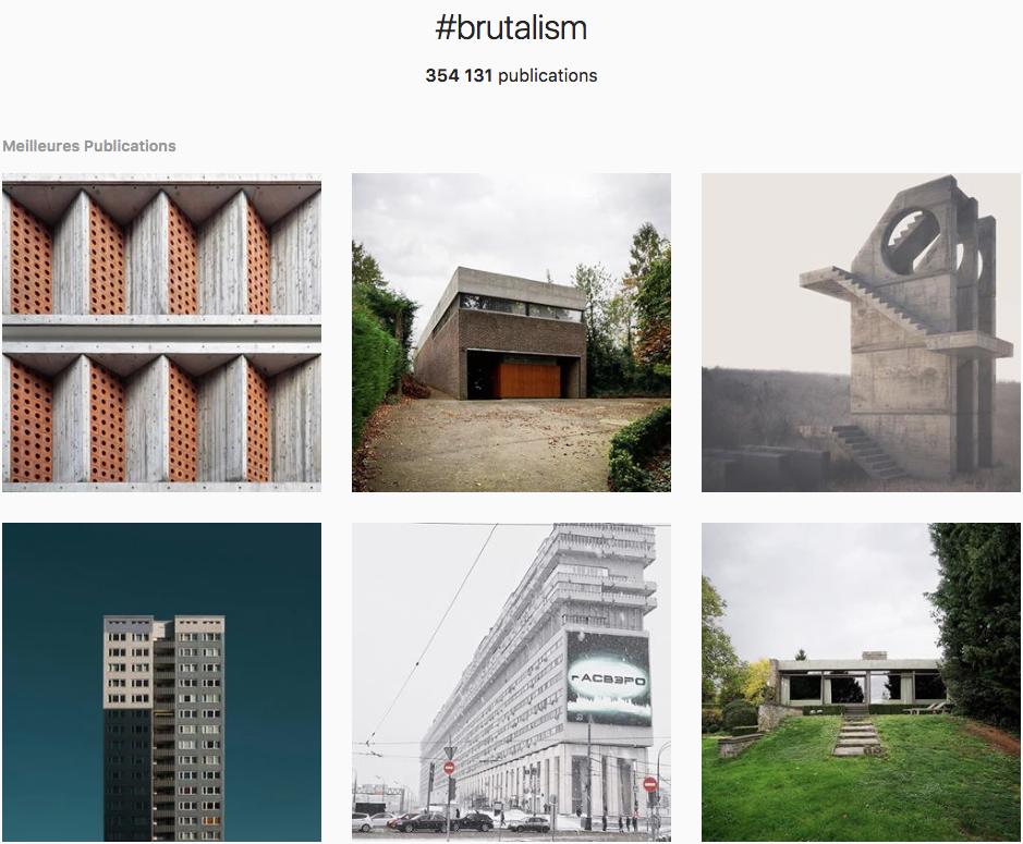 brutalisme brutalism instagram
