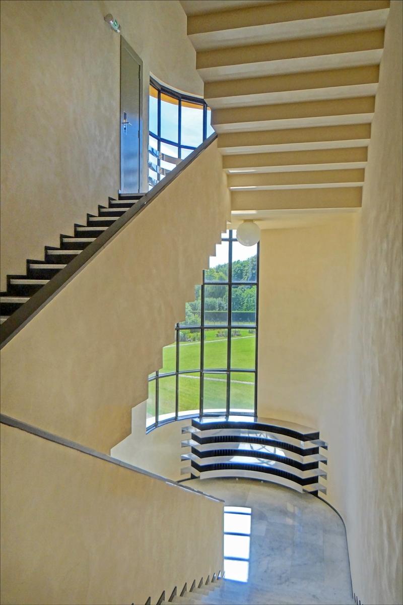escalier d honneur villa cavrois