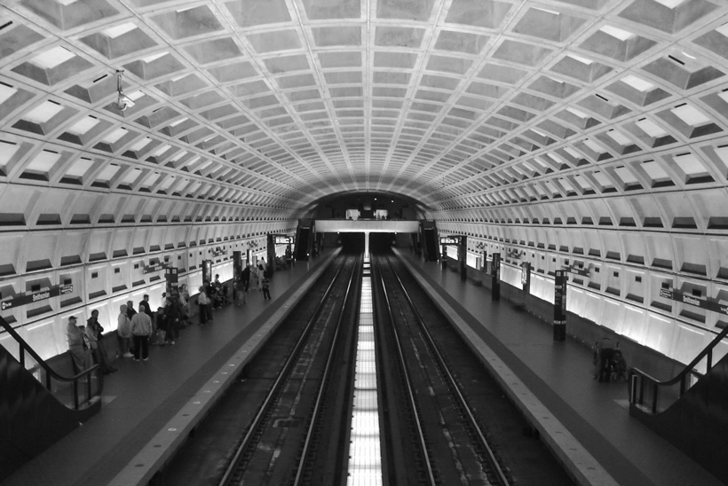 metro Washington Harry Weese brutalisme