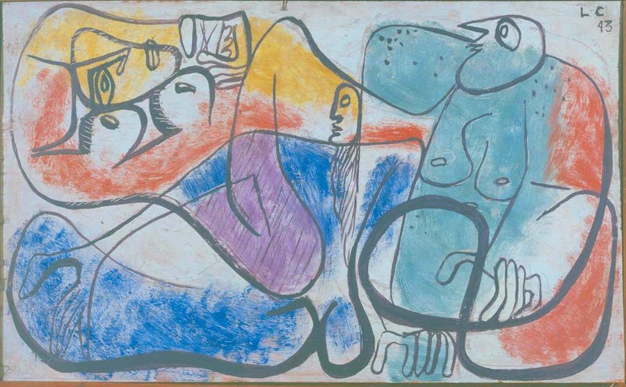 trois_figures_badot_le_corbusier_peinture