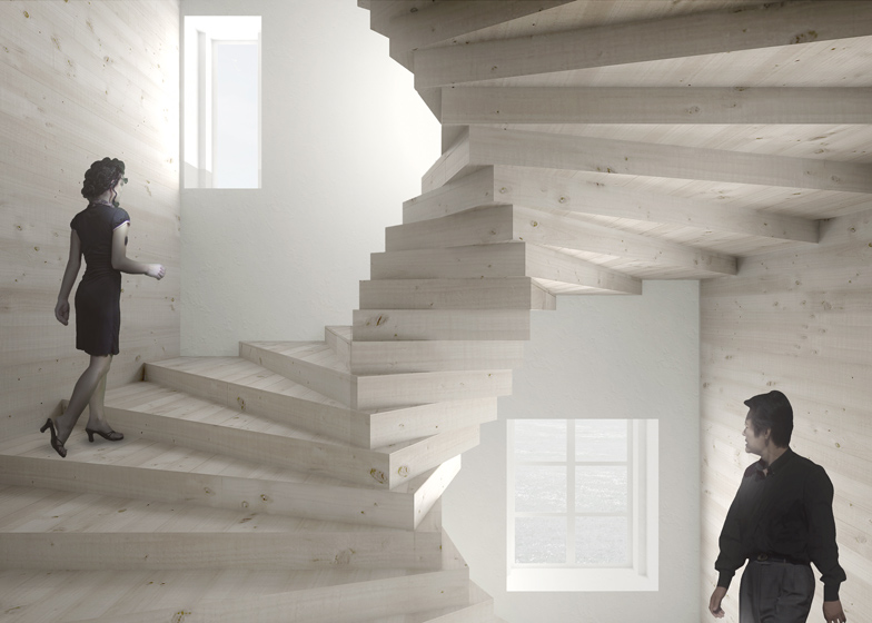 Bjarke__ingels_big_agence_danoise_musee_suisse_audemars_piguet_horlogerie_luxe_realisation_escalier